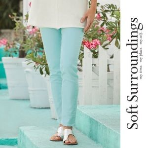 NWT Soft Surroundings • Skinny Leg Ankle Jeans, 4